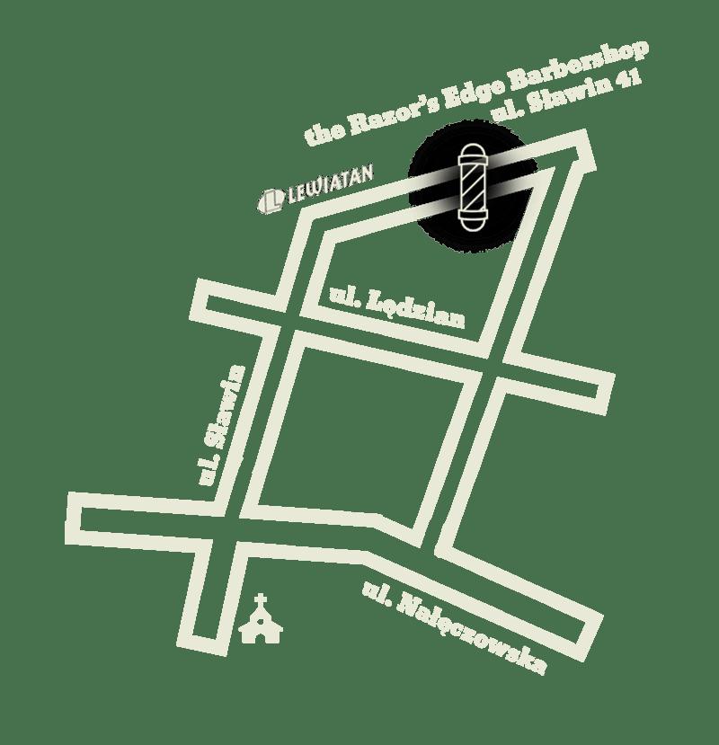 Mapa dojazdu do Barbershopu