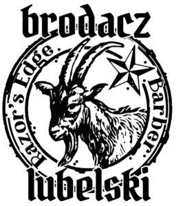 Brodacz Lubelski - wzór koszulek barberskich z the Razor's Edge barbershop w Lublinie. Fryzjer męski i barber Lublin