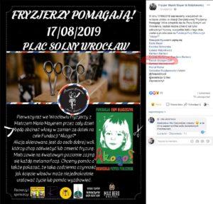 Fryzjerzy Pomagają we Wrocławiu